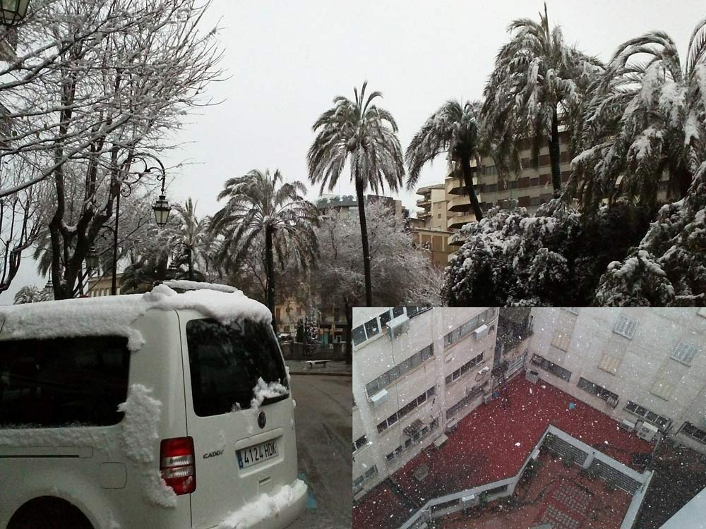 Never snows in Majorca, Oakley photo shoot