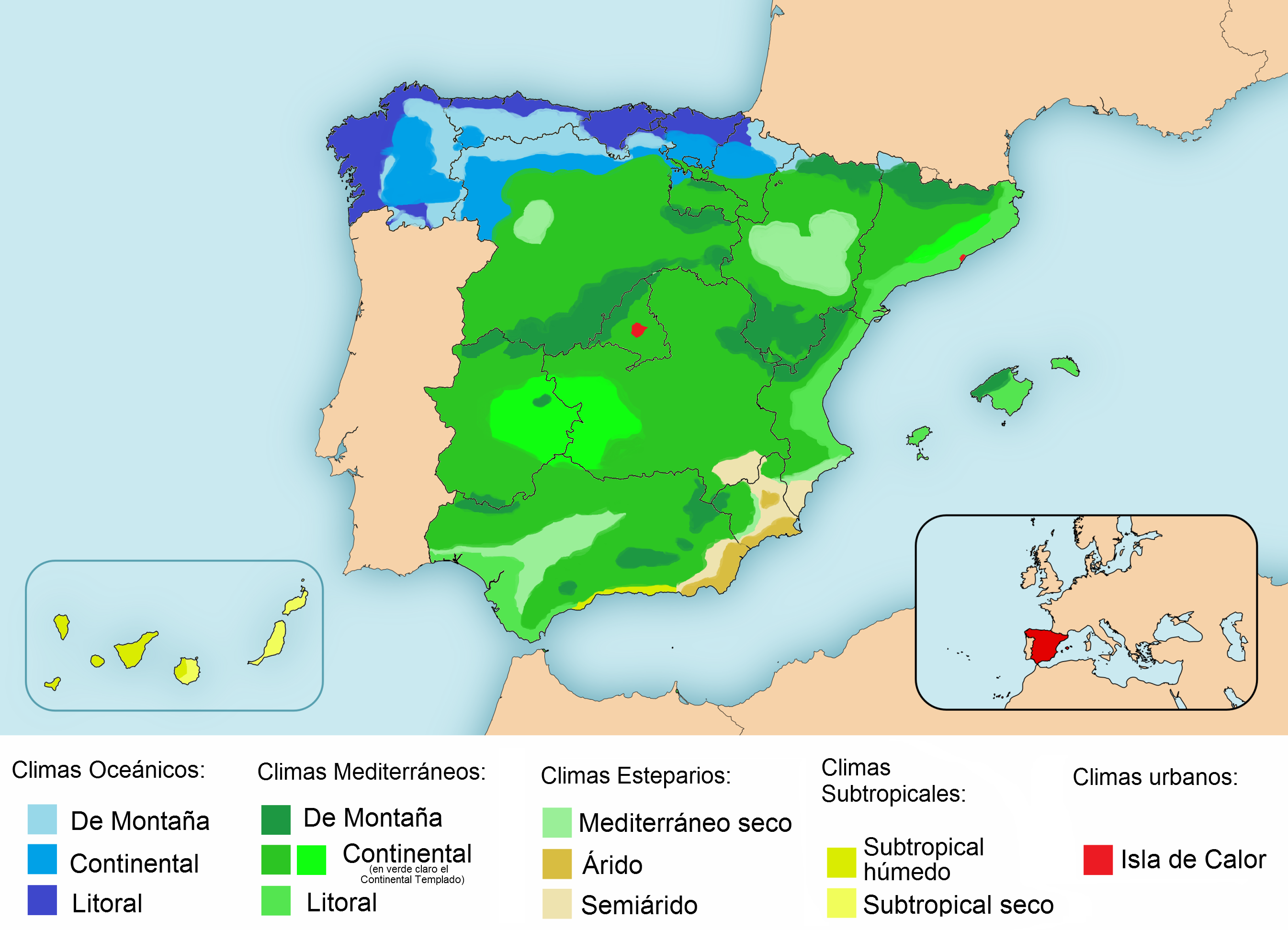 Spain's climate